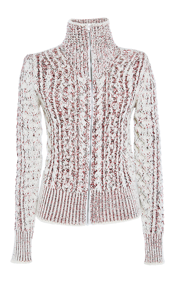 Isabel Marant Easely Zip Sweater