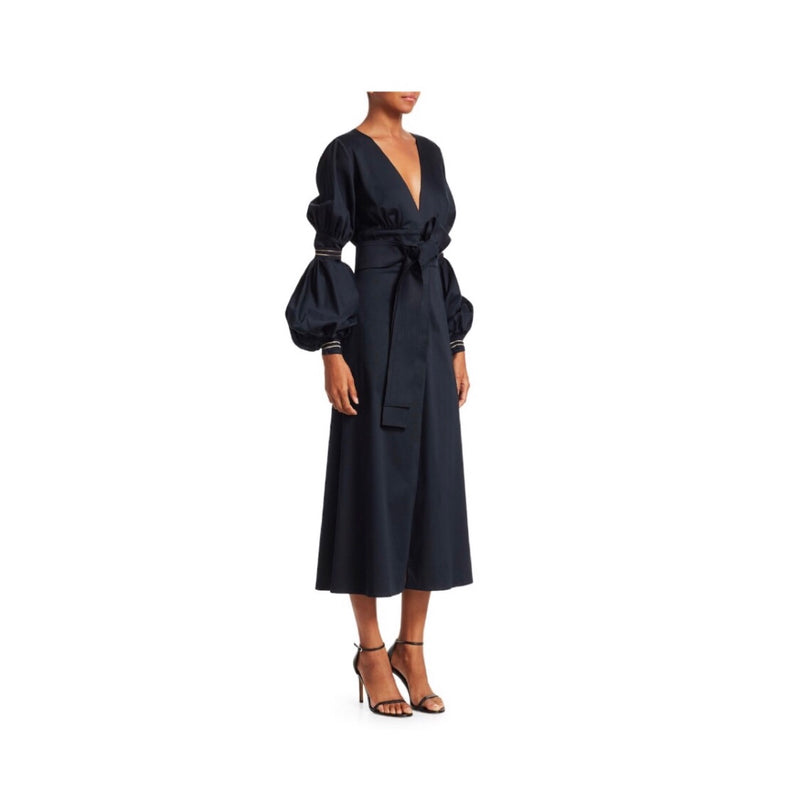Silvia Tcherassi Heliotropo Puff Sleeve Dress