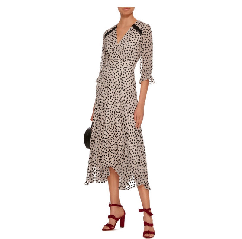Saloni Edith Midi Dress