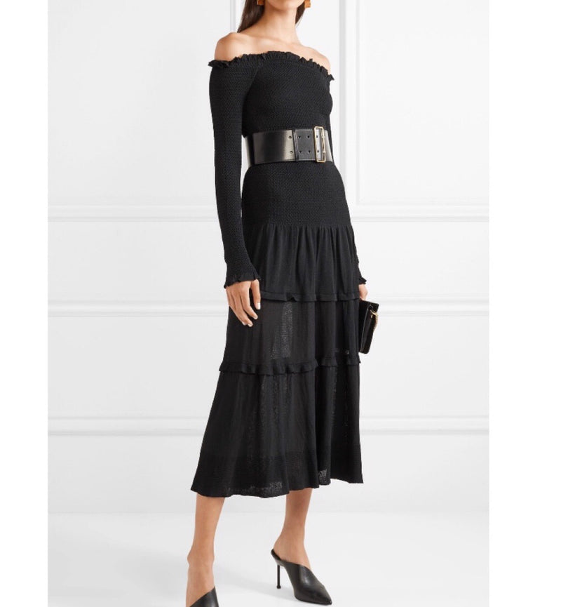 Altuzarra Vendaval Tiered Midi Dress