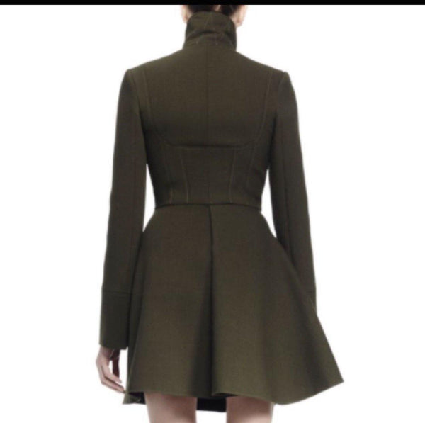Alexander McQueen Army Green Coat