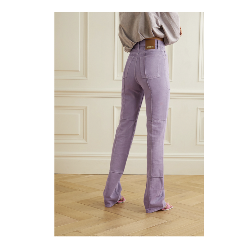 Jacquemus Organic High Rise Jeans