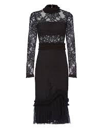 Alexis Anabella Lace Midi Dress