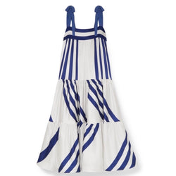 Silvia Tcherassi Tayrona Striped Maxi Dress