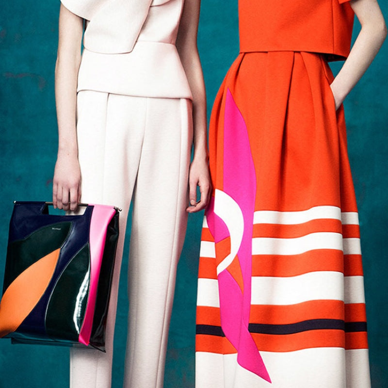 Delpozo Mixed Media Maxi Skirt