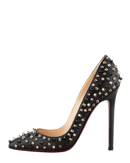 Christian Louboutin Studded Pigalle Pumps