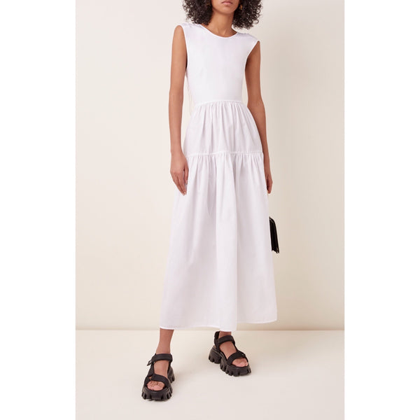 Cecilie Bahnsen Ruth Sleeveless Cotton-Poplin Dress
