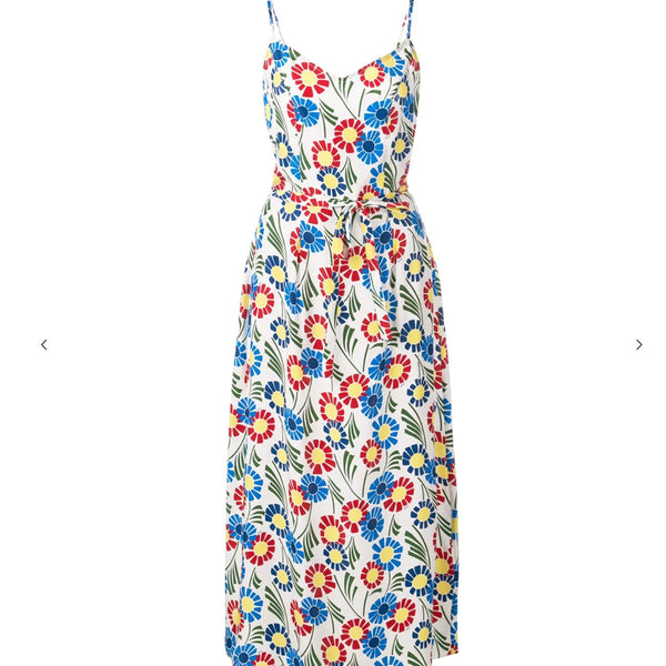 HVN Floral Slip Day Dress