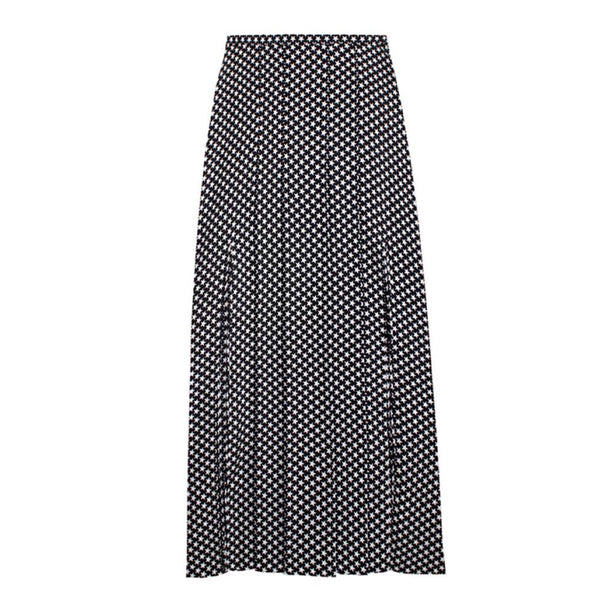 Rixo London Georgia Mini Star Print Skirt