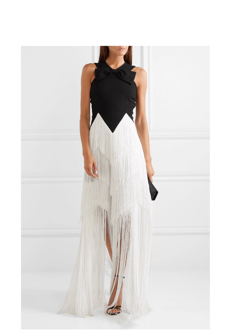 Givenchy Fringe Gown