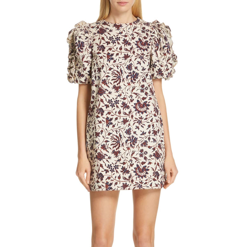 Ulla Johnson Poppy Ruffle Sleeve Shift Dress