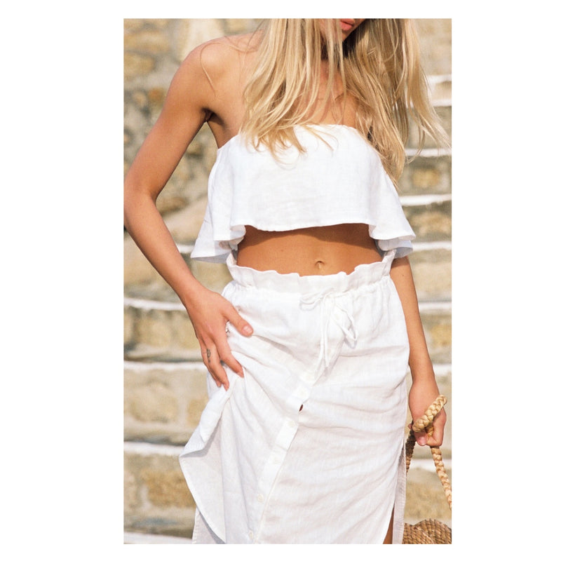 Faithfull Solana Strapless Top