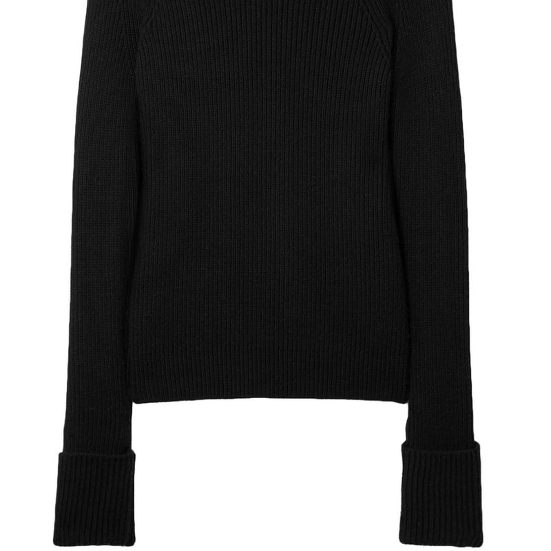 The Row Sabra Ribbed Wool Sweater