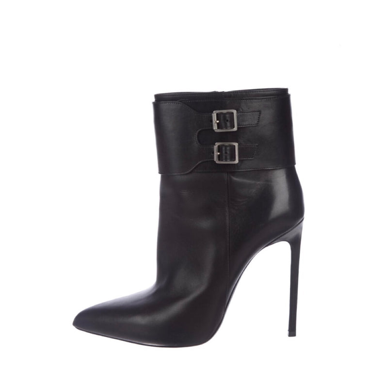 Saint Laurent Point Toe Ankle Boot