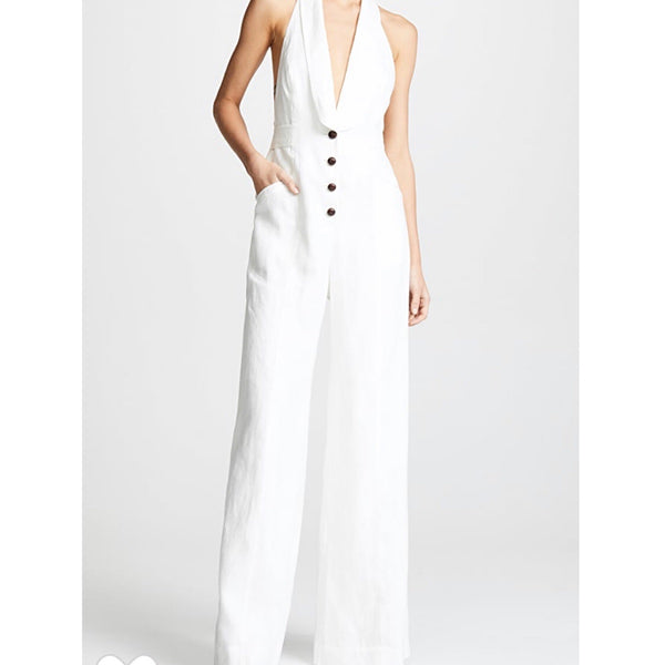 Zimmermann Corsage Tailored Jumpsuit
