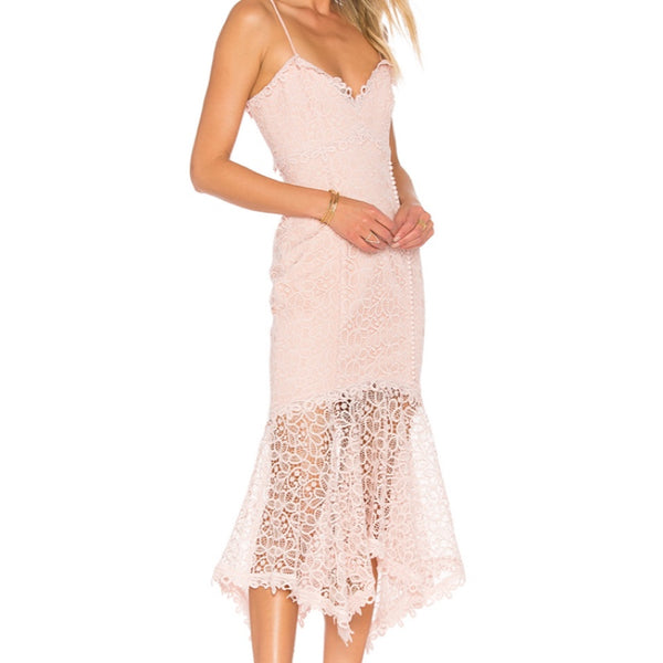Nicholas Guipure Lace Dress