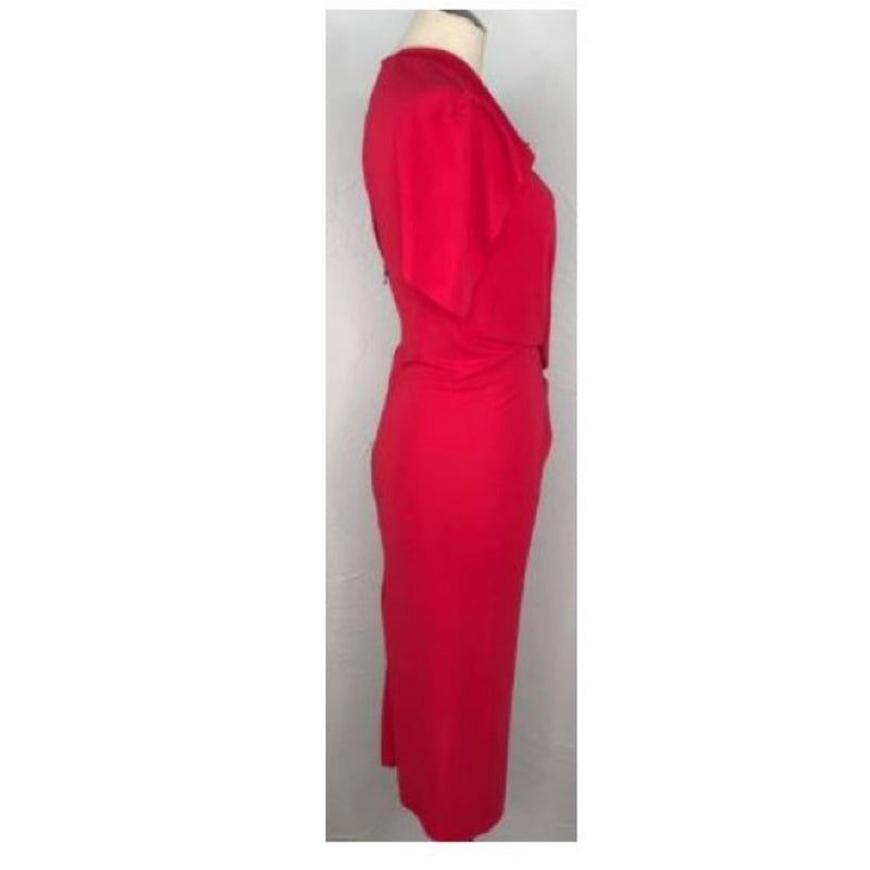 Roland Mouret Stretch Crepe Dress