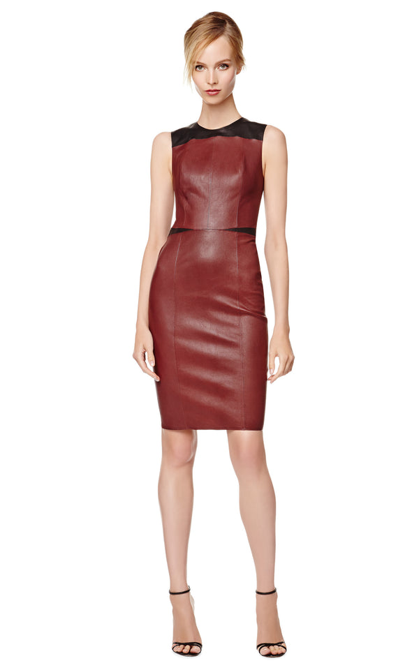 Narciso Rodriguez Leather Dress