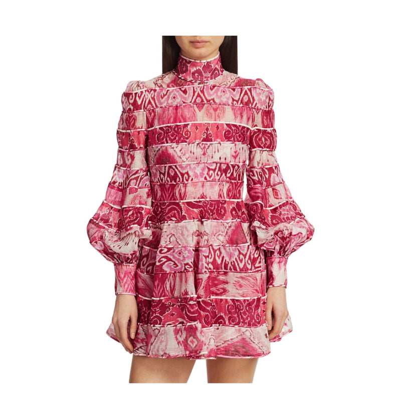 Zimmermann Wavelength Mini Dress
