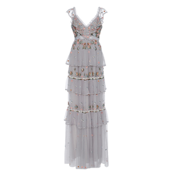 Needle & Thread Whimsical Embroidered Gown