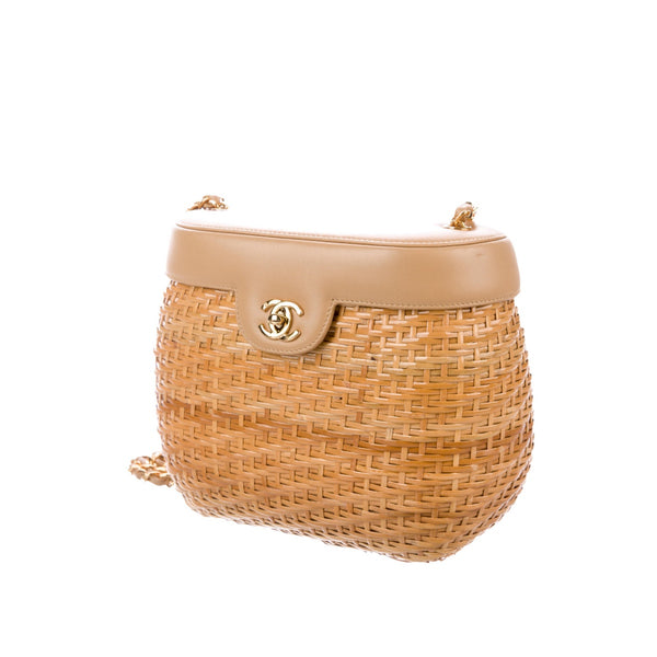 Chanel Wicker Basket Bag