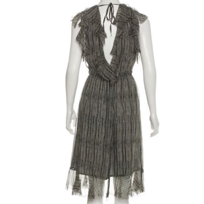 L'Agence Sophie Silk Dress