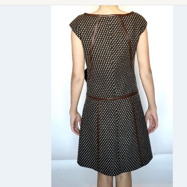Prada Brown Tweed Dress