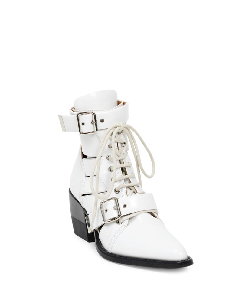 Chloé Rylee Lace-up Leather Boot