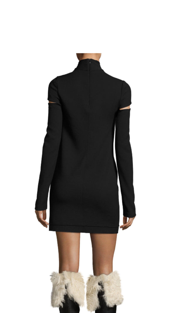 Helmut Lang Turtle Neck Mini Dress