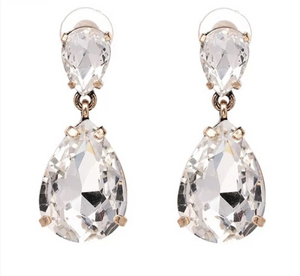 Dangle Drop Crystal Earrings