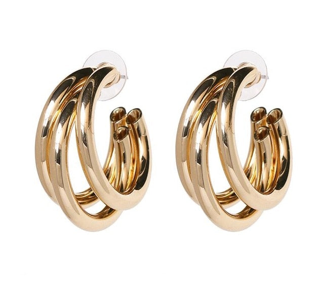 Classic Polished Earrings