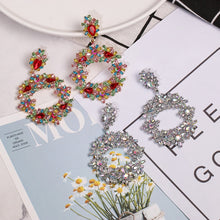 Load image into Gallery viewer, Luxury Crystal Drop Earrings
