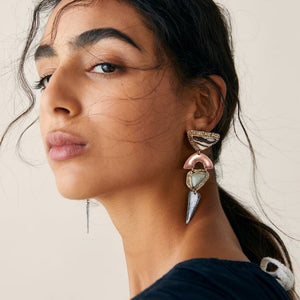 Free Shape Julia Drop Earrings