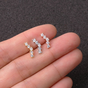 Elegant Earring with Crystal