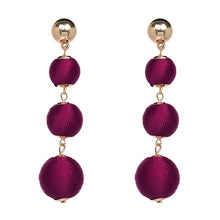 Load image into Gallery viewer, Ball Drop Earrings