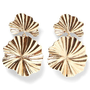 Gold Statement Earring
