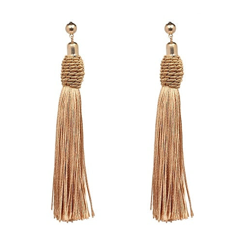 Tassel Drop Dangle Earrings