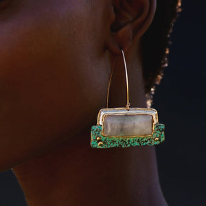 Earthy Gem Earrings