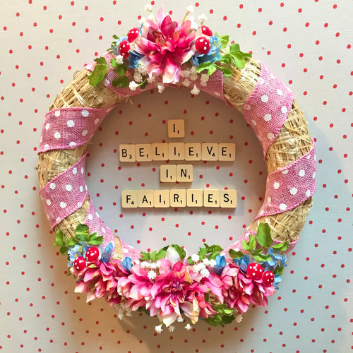 Charming Flower Wreath