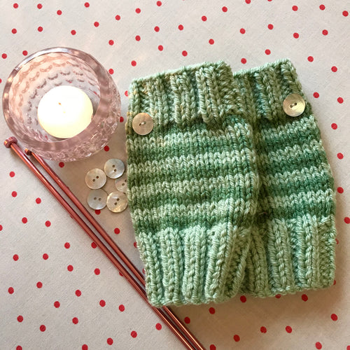 Hand Knitted Mitts
