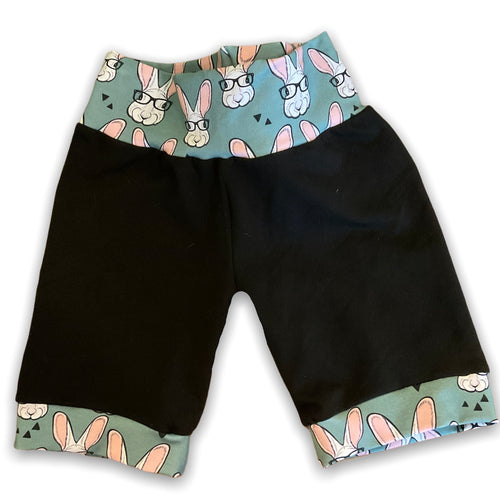 6-9YR Hipster Bunny Tail Shorts
