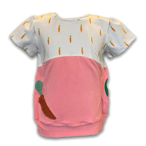3-6YR Carrots XL Pocket Top