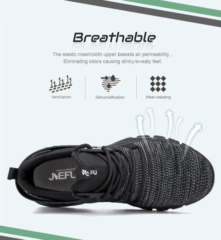 Breathable Steel Toe Shoes
