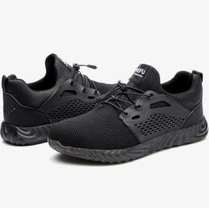 AirTrek 2 - Black | Steel Toe Work Shoes