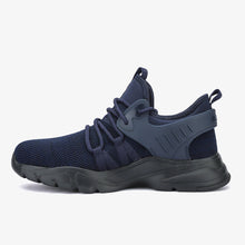 Load image into Gallery viewer, TaskForce - Navy Blue | Steel Toe Work Shoes