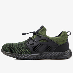 AirTrek 2 - Green | Steel Toe Work Shoes