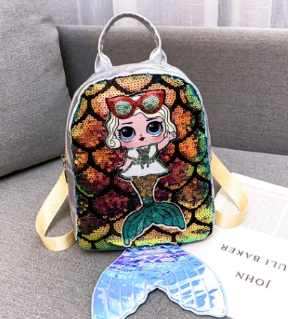 2019 new colorful laser mermaid backpack(50% Off Today!!!)