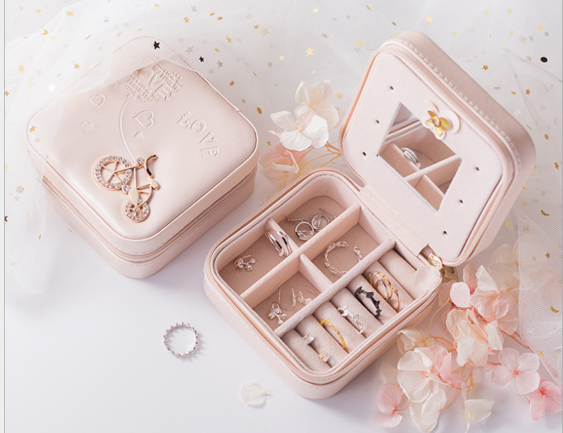Portable jewelry box【50 %OFF ONLY TODAY】
