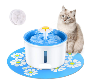 Pet Flower Drinking Fountain