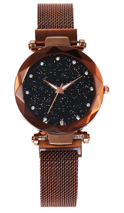 Starry sky fashion ladies watch
